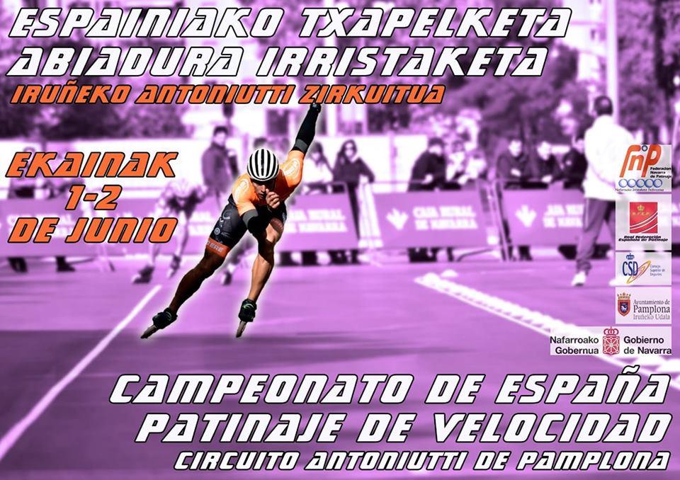 Campeonato de España 2019 de patinaje de velocidad en circuito