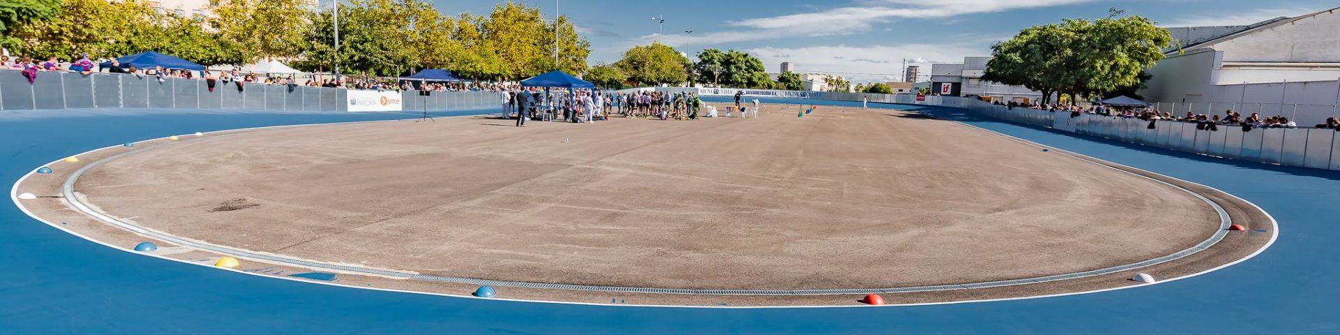 foto general pista patinaje de velocidad Paiporta, patina en Valencia