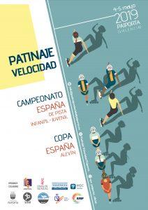 Campeonato de España patinaje Velocidad