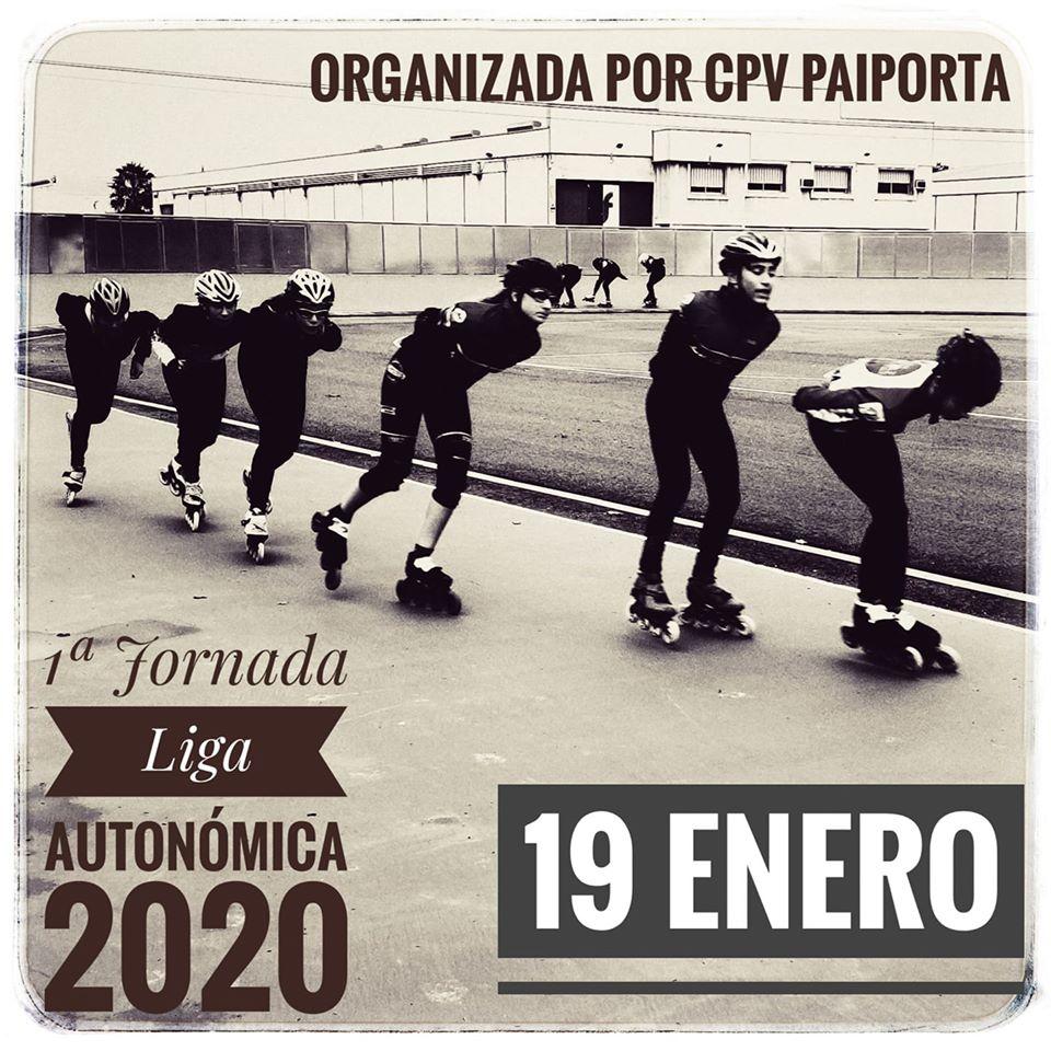I jornada Liga Autonómica Comunida Valenciana Patinaje de Velocidad