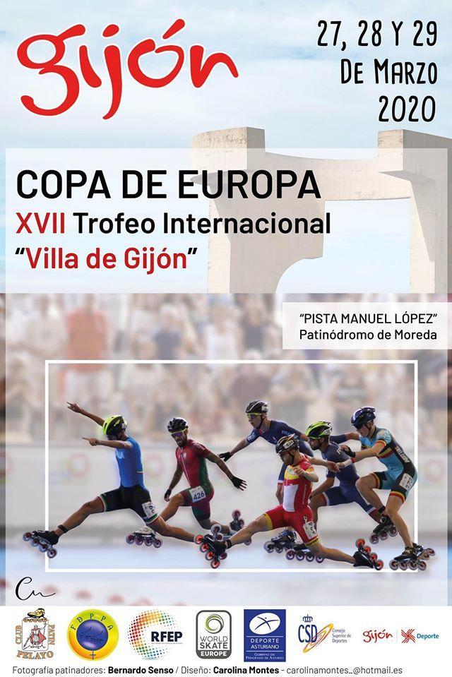 """Copa de Europa 2020 """"Villa de Gijon"""""""