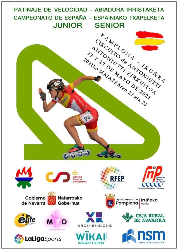 Campeonato de España de 2021 de patinaje de velocidad de circuito
