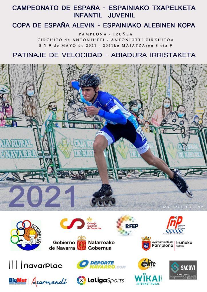 Campeonato de España de patinaje de velocidad de circuito 2021